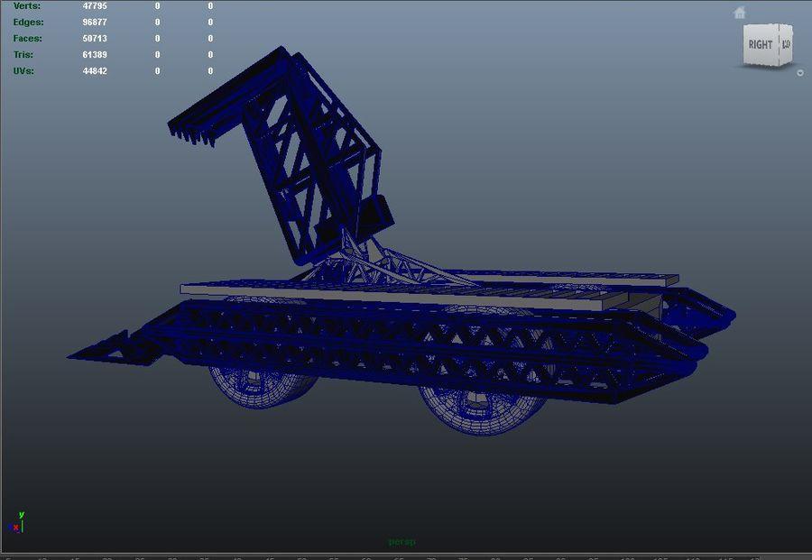 Bit kuvvet savaş robotu royalty-free 3d model - Preview no. 13