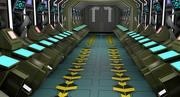 Sci Fi Koridoru 3d model