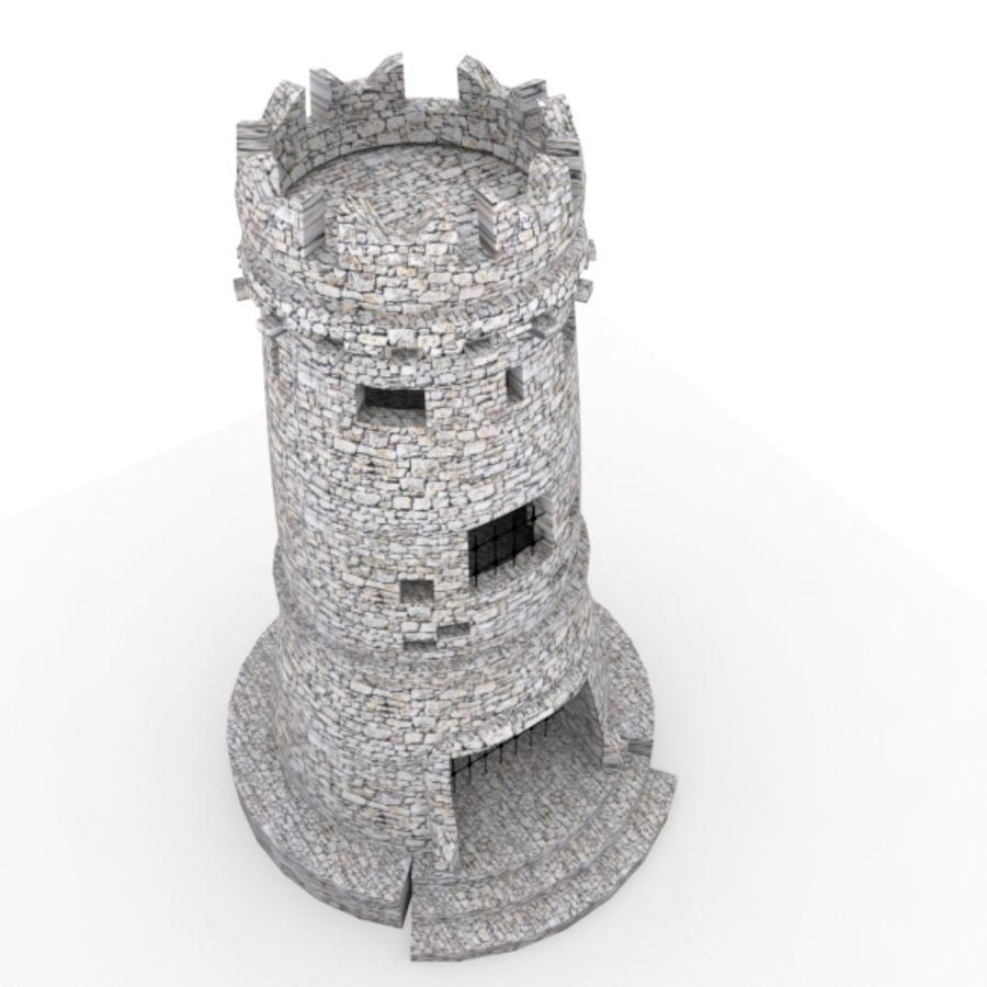 Torre do Castelo royalty-free 3d model - Preview no. 6