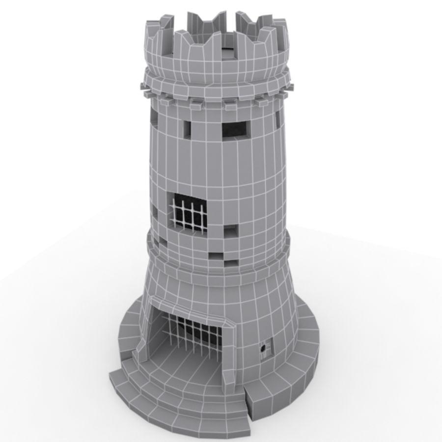 Torre do Castelo royalty-free 3d model - Preview no. 8
