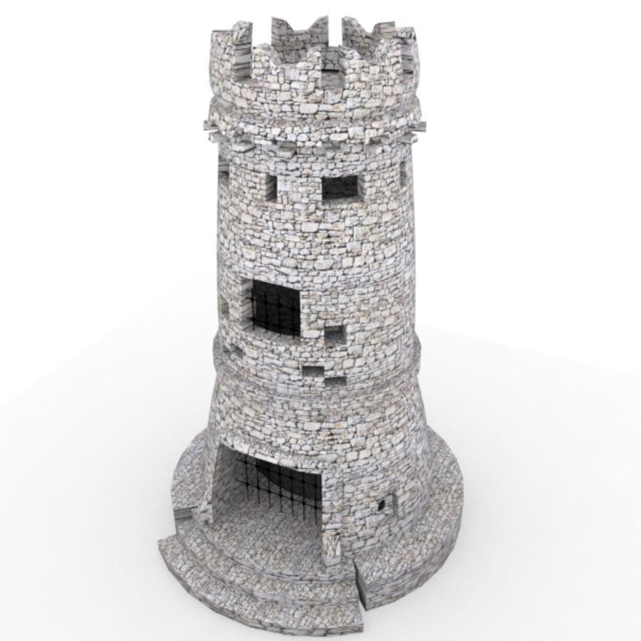 Torre do Castelo royalty-free 3d model - Preview no. 7