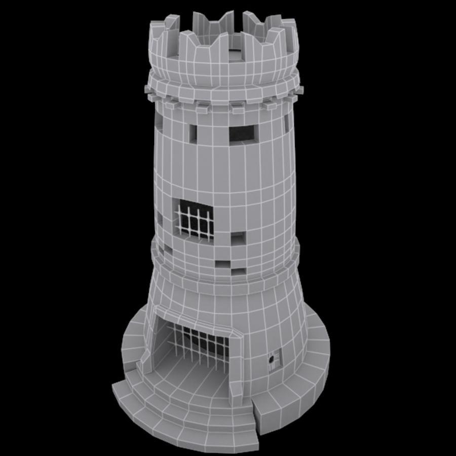 Torre do Castelo royalty-free 3d model - Preview no. 9