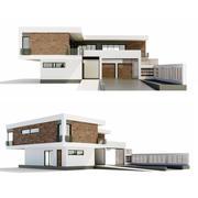 现代别墅 3d model