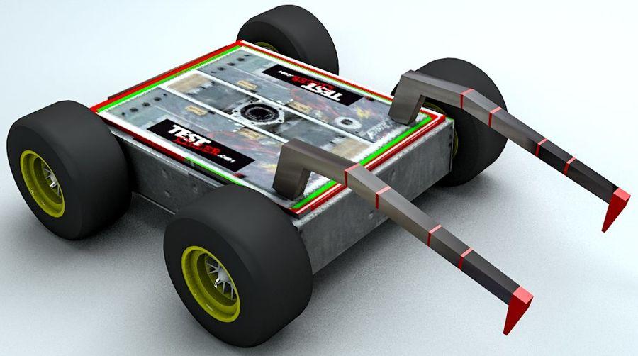 Tehlike Mücadele Robotu royalty-free 3d model - Preview no. 1