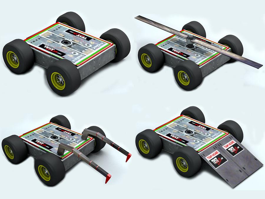 Robot antincendio royalty-free 3d model - Preview no. 8