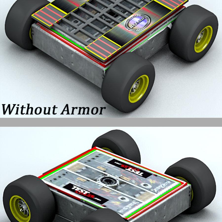 Robot antincendio royalty-free 3d model - Preview no. 6
