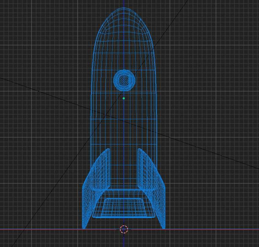 Rocket Space royalty-free 3d model - Preview no. 5