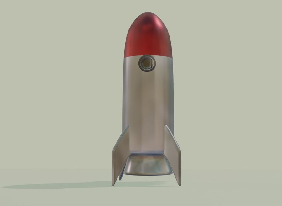 Rocket Space royalty-free 3d model - Preview no. 3