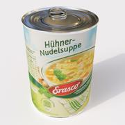 Chicken Soup can 3d model
