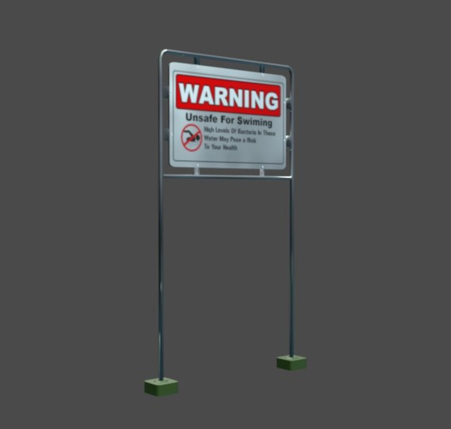 Anttention Board royalty-free 3d model - Preview no. 2