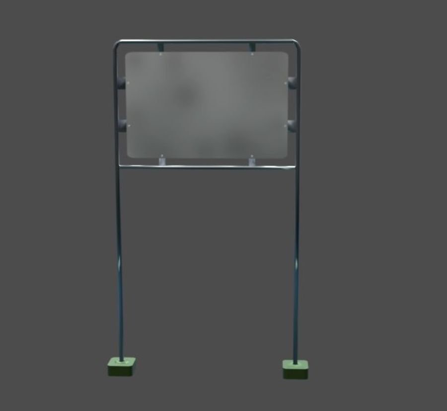 Anttention Board royalty-free 3d model - Preview no. 5