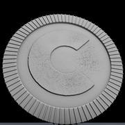 Pièce de monnaie 3d model