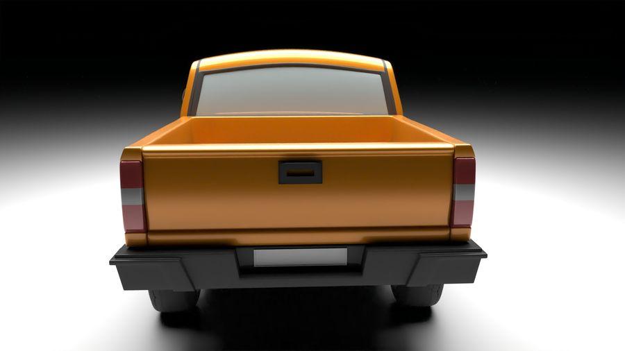 Pickup (no Interior) royalty-free 3d model - Preview no. 4