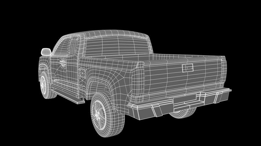 Pickup (no Interior) royalty-free 3d model - Preview no. 11