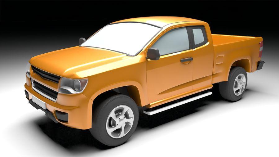 Pickup (no Interior) royalty-free 3d model - Preview no. 1