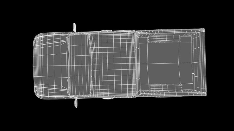 Pickup (no Interior) royalty-free 3d model - Preview no. 13