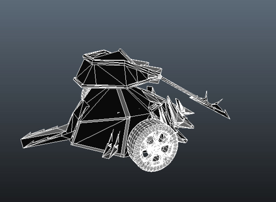 Tazbot kämpfender Roboter royalty-free 3d model - Preview no. 10