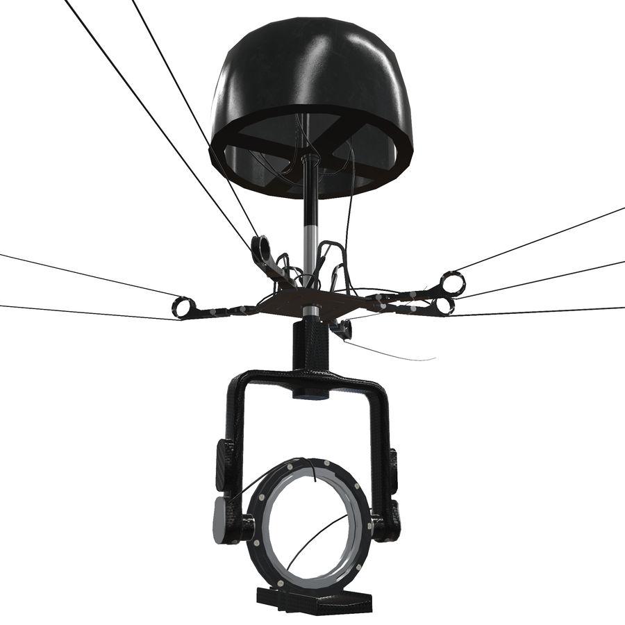 Sport Spidercam pour les stades de terrain royalty-free 3d model - Preview no. 1
