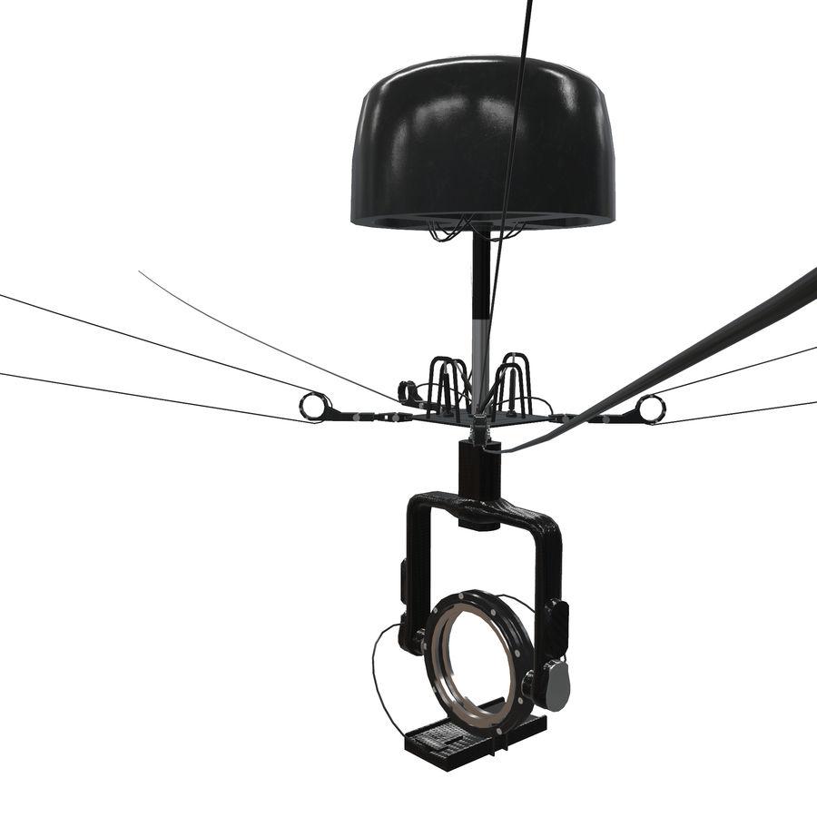 Sport Spidercam pour les stades de terrain royalty-free 3d model - Preview no. 2