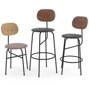 Kolekcja Afteroom Chairs Plus według MENU 3d model