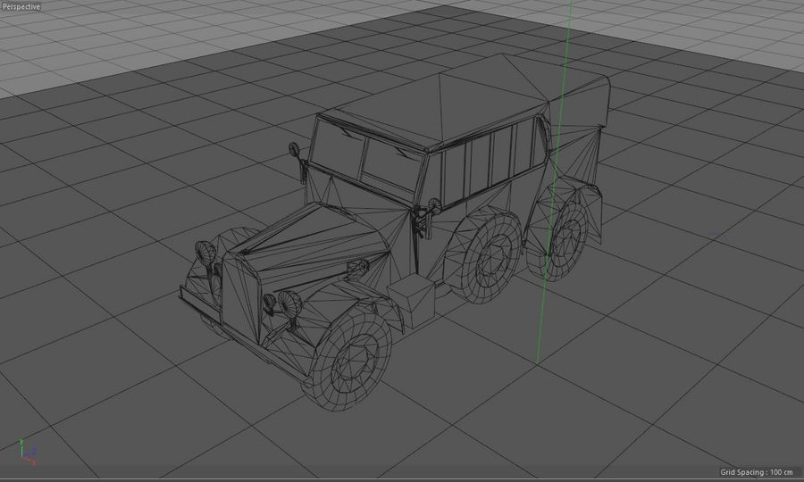 Horcher Military Vehicle royalty-free 3d model - Preview no. 16