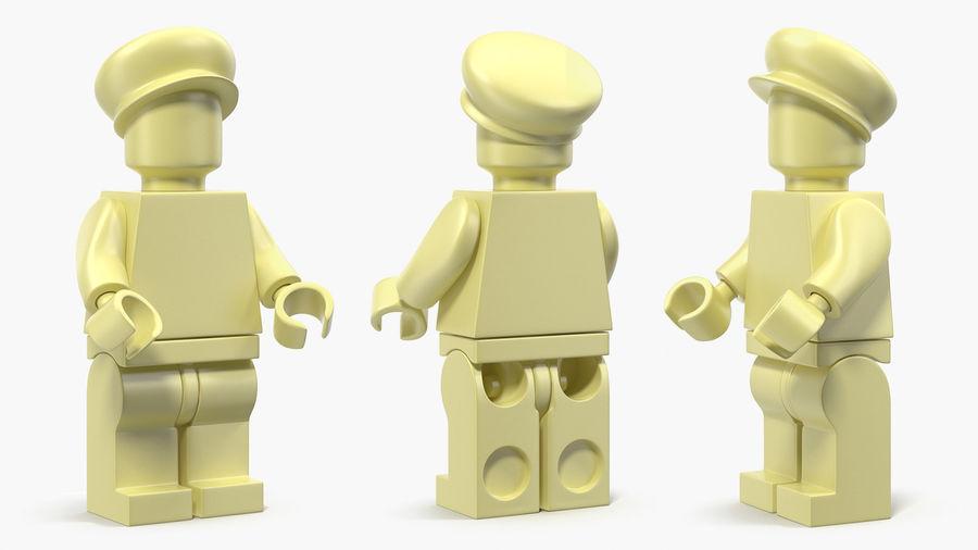 Figura di Mario Lego royalty-free 3d model - Preview no. 9