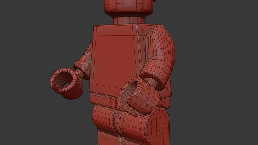 Figura di Mario Lego royalty-free 3d model - Preview no. 13