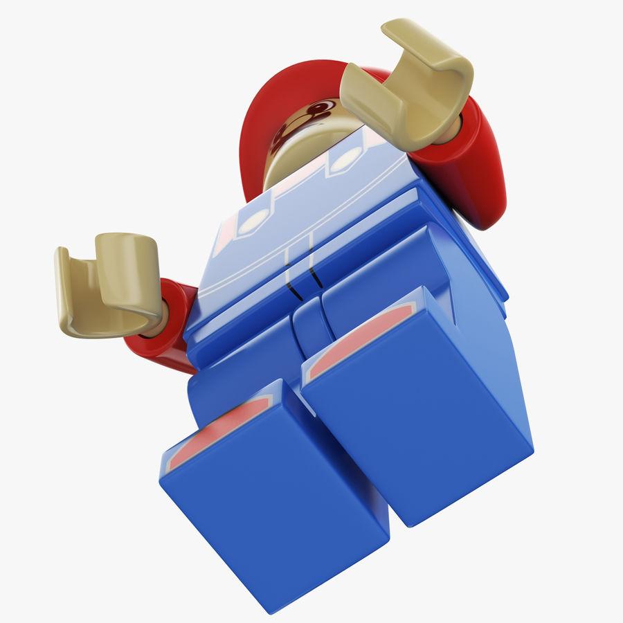 Figura di Mario Lego royalty-free 3d model - Preview no. 8