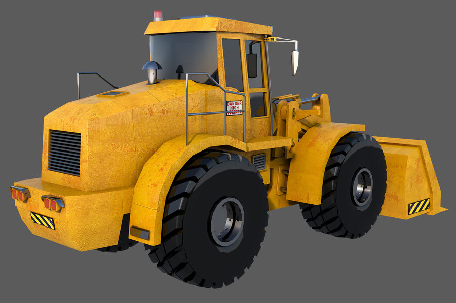 Graafmachine royalty-free 3d model - Preview no. 4