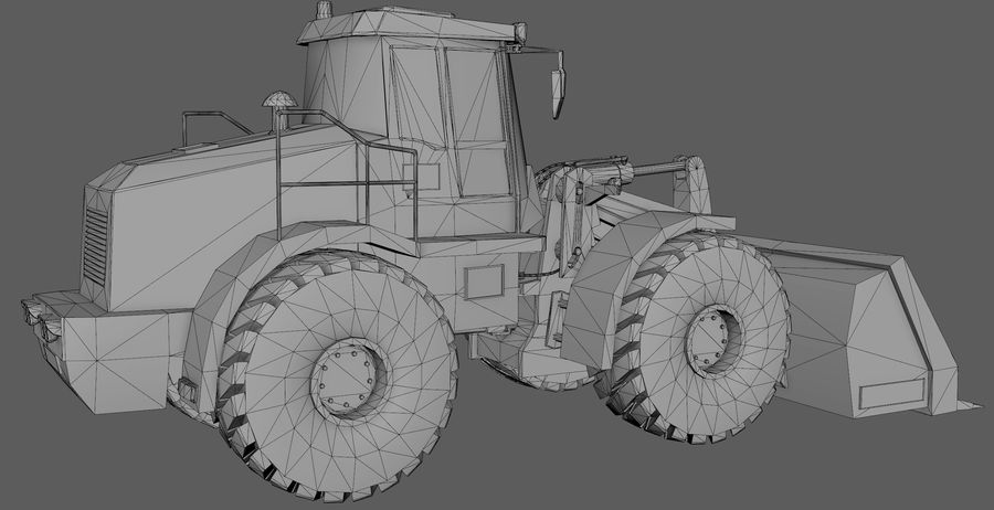 Graafmachine royalty-free 3d model - Preview no. 10