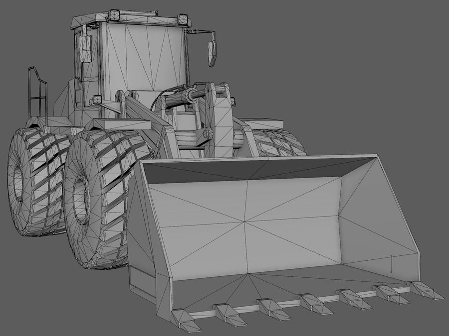Graafmachine royalty-free 3d model - Preview no. 8