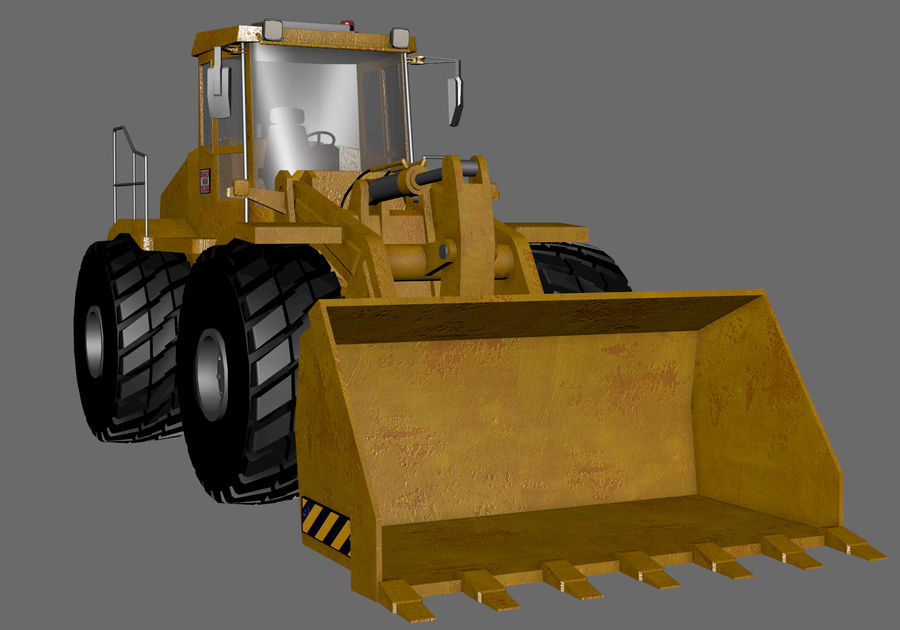 Graafmachine royalty-free 3d model - Preview no. 7