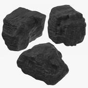 石炭の塊 3d model