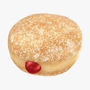 Donut de concha modelo 3d