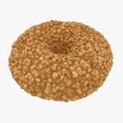 Peanut Donut 3d model