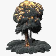 Esplosione Nuke v.2 3d model