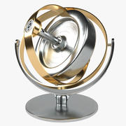 Gyroskop 3d model