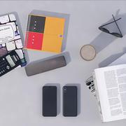 artykuły biurowe telefon penci 3d model