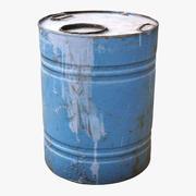 Scanned Barrel 01 3d model