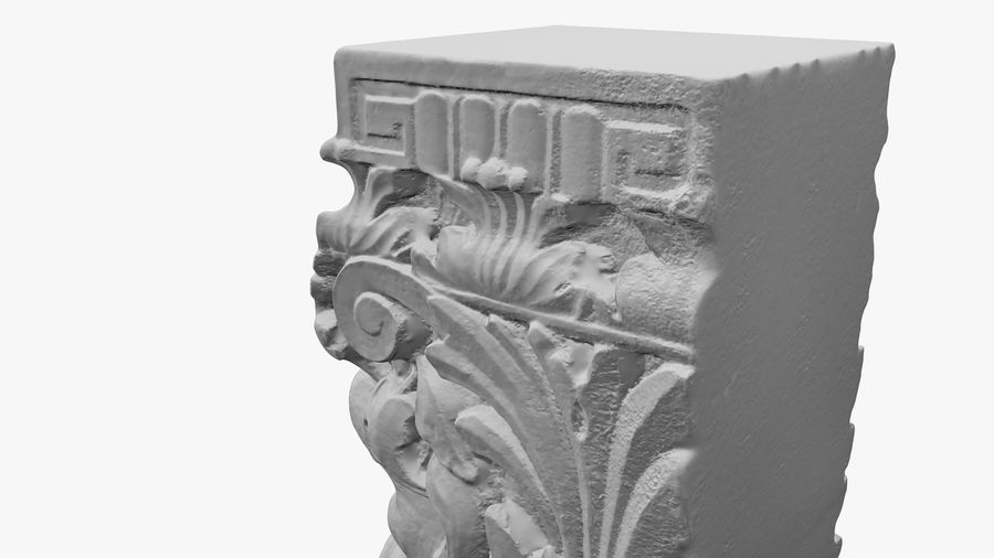 Stojak na rośliny royalty-free 3d model - Preview no. 33