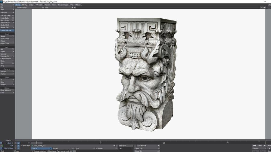 Stojak na rośliny royalty-free 3d model - Preview no. 23