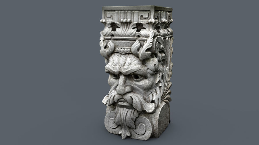 Stojak na rośliny royalty-free 3d model - Preview no. 3