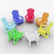 Adirondak Chair 3d model