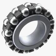Inside Ball Bearing 3d model