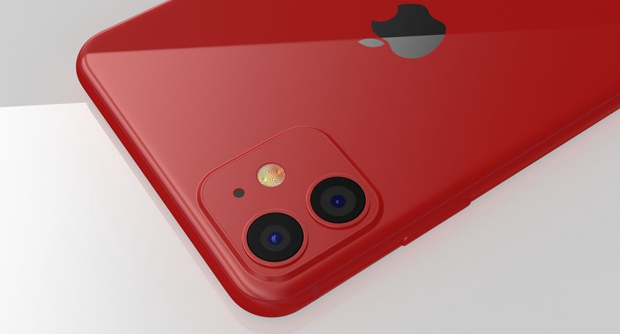 iPhone 11 royalty-free 3d model - Preview no. 18