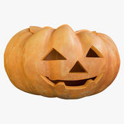 Pumpkin Clean Kind Emotion 3d model