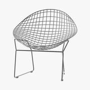 Сетчатый стул 3d model