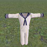sailor set 3d model