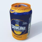 Orangina can 3d model