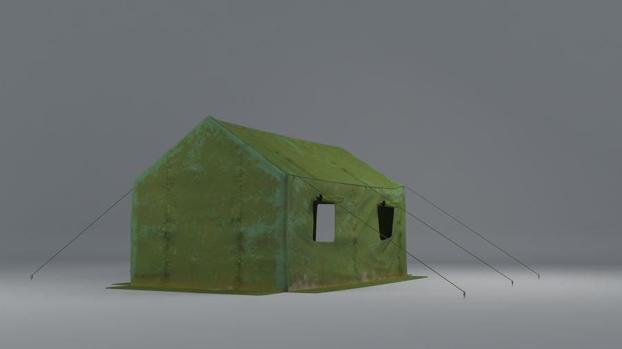 Tente armée royalty-free 3d model - Preview no. 3